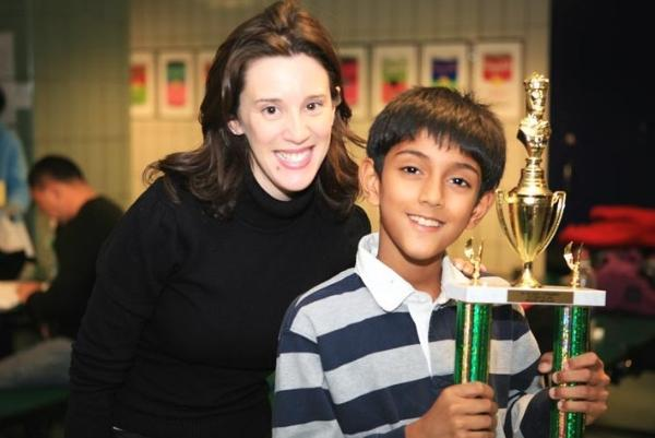 Ameya Shiva Won The Tournament organized by NY Chess Kids.