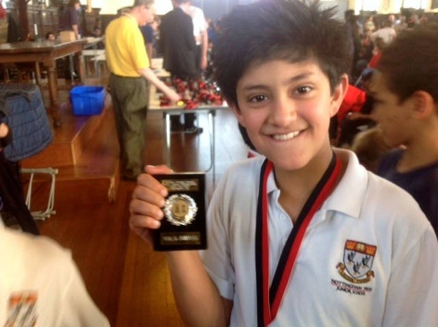 Aditya Munshi wins numerous prizes at National and International level