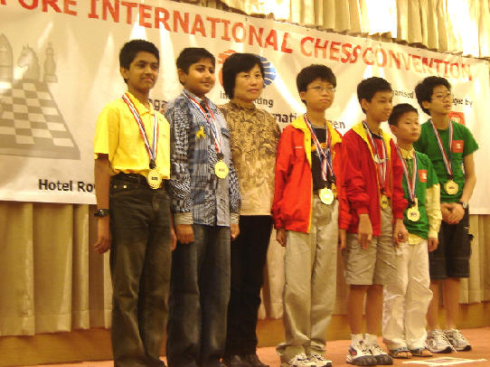 Karan Ajinkya & Saurabh Siroya - Team Silver in Under 13 Boys