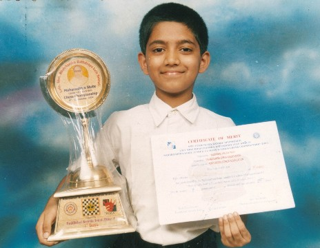 Karan Ajinkya won Maharashtra State U 13 in 2004 at Pune.