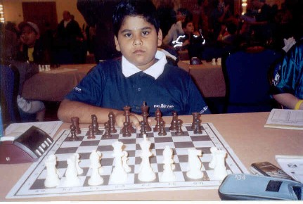 Prasanna Rao won Gold Medal in Asian Under 10 Championship, 2004 - Singapore