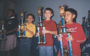 Aniruddha Suresh is Texas State Champion for 3rd Grade.