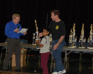 Aniruddha Suresh won the Texas Schools Tournament for Grade 3