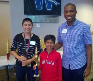Faraz Hussain won prize in a tournament in Ohio