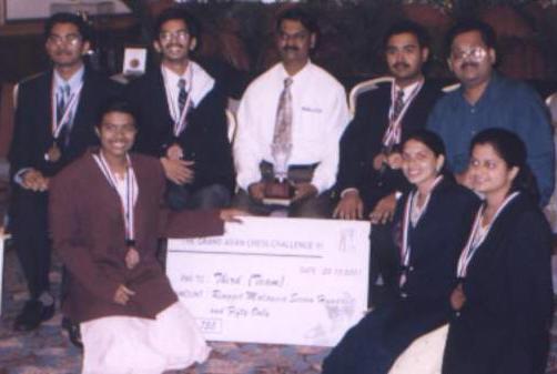 GACC University Championship 2001 Kuala Lampur, Malaysia - Team secured 3rd Place