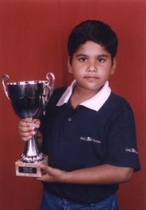 Prasanna Rao - Smith & Williamson British Under 9 Champion