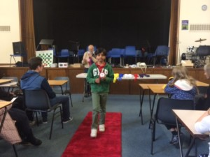 Saahat Satyam won a prize in a Tournament at Manchester.