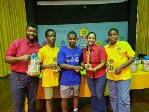 Darren Mckennis became Jamaica National Champion in U14