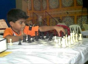 Asim Mehta - U 8 Champion - Bournvita Interschool Tournament 2003