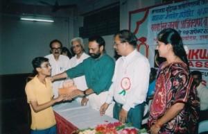Rahul Ved Won Maharashtra State Under 17 in 2004 at Aurangabad